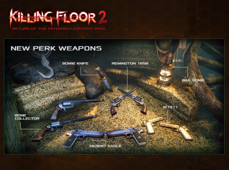 Killing floor 2 return of the patriarch content update for Floor 2 boss swordburst 2