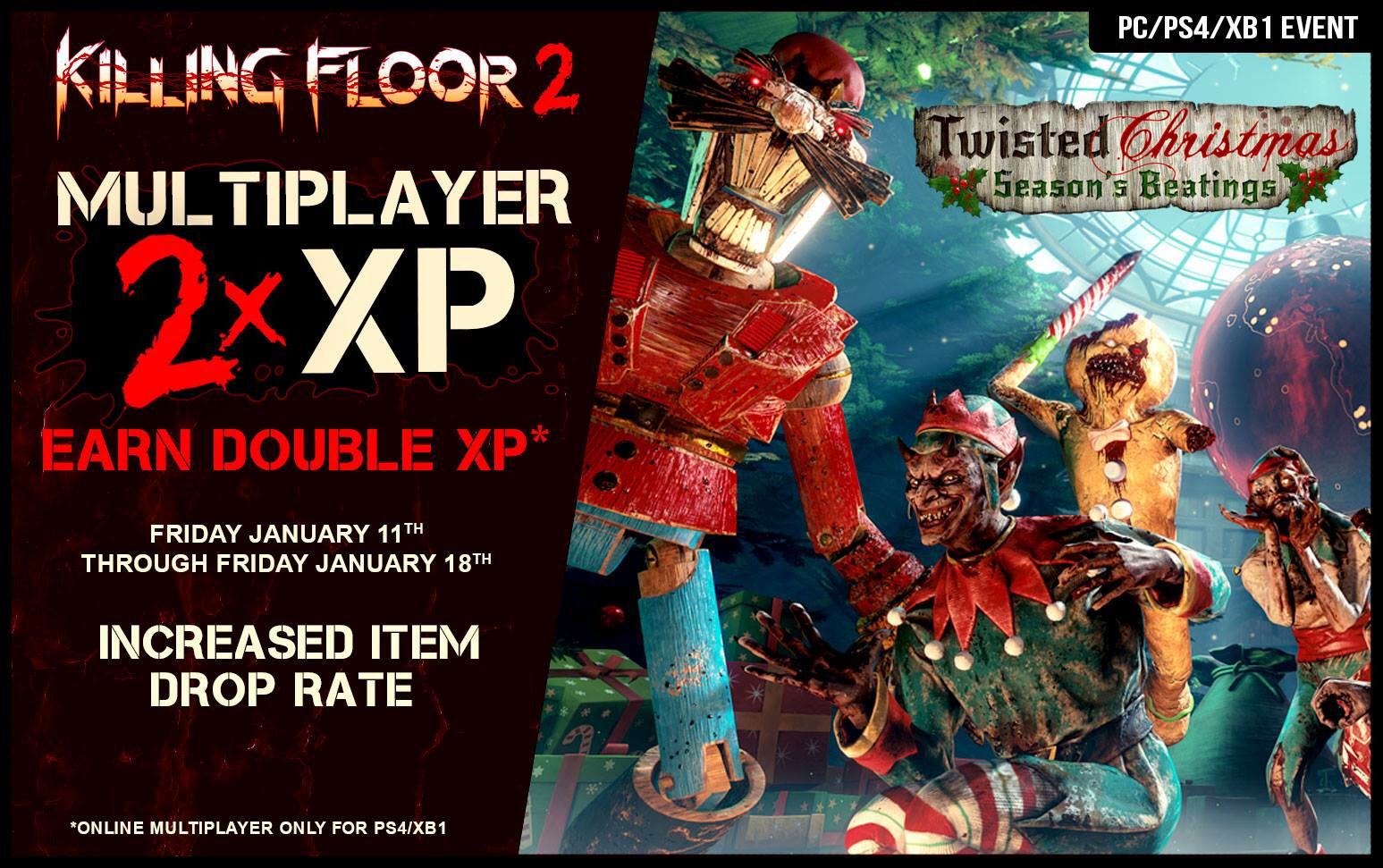 Double XP Is Back - All Week!