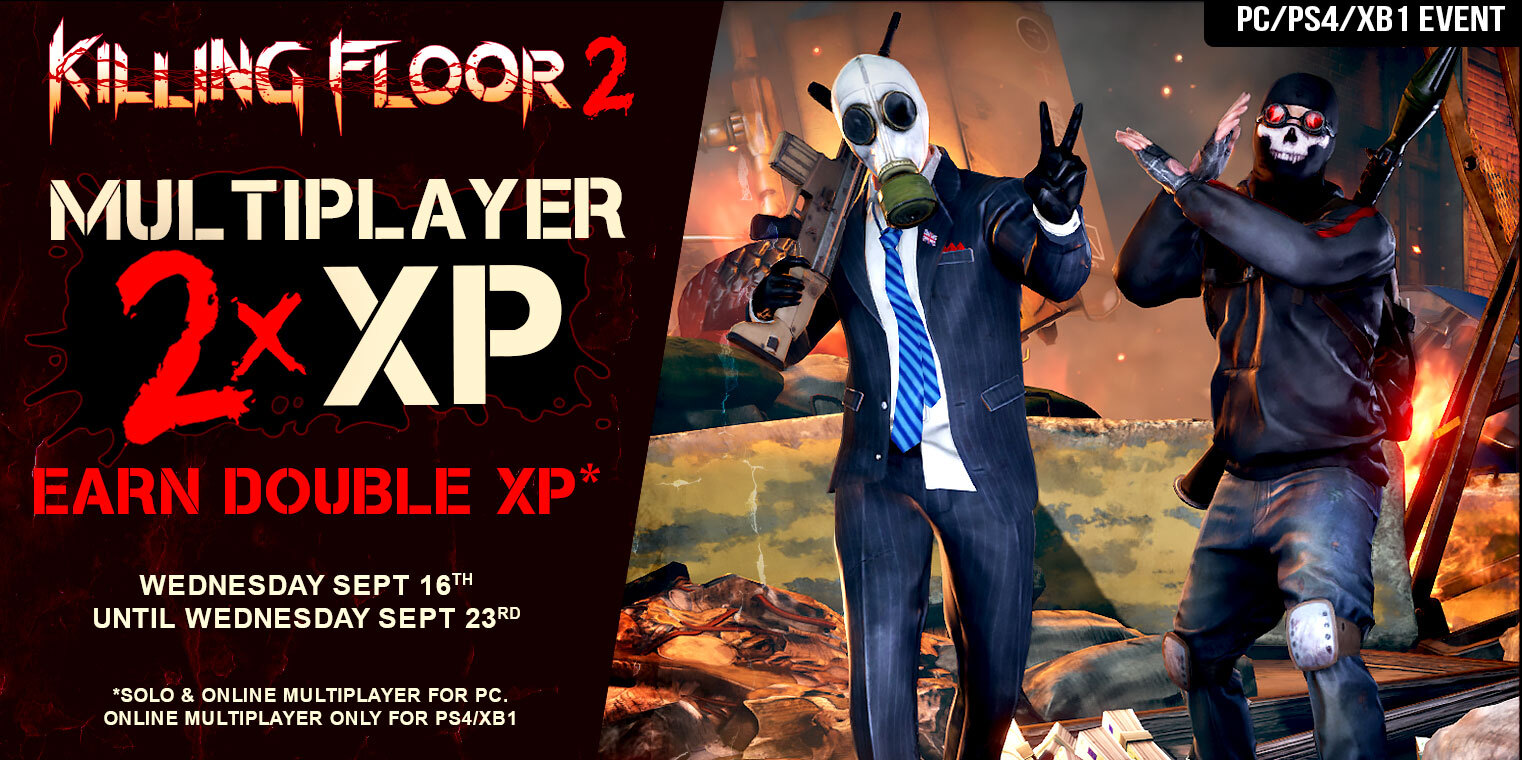 Extra Double XP Event Going on Now!